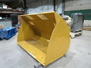Caterpillar 924 938 Wheel Loader Bucket Snow Removal 924h 924k 938h 938k New Cat