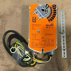 Belimo Fslf120 s Us Spring Return Actuator New