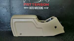 2003 Ford Expedition Front Center Floor Console Tan
