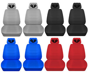 Car Seat Covers 2006 2020 Dodge Charger Front Set Personalized Design Abf