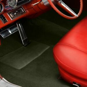 For Mg Mga 56 62 Sewn To Contour Replacement Carpet Sewn To Contour Olive Green