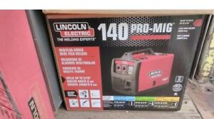 140 Amp Weld Pak 140 Hd Mig Wire Feed Welder With Magnum 100l Gun New In Box