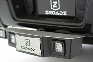 Zroadz Universal Universal Accessories Z390010 kit Black 2 Hitch Step With Led
