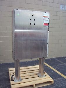 Hoffman Stainless Steel A48hs3712sslp Nema Type 4x Electrical Enclosure Cabinet