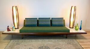 Adrian Pearsall Sofa Couch W Travertine Side Tables Mid Century Modern Mcm