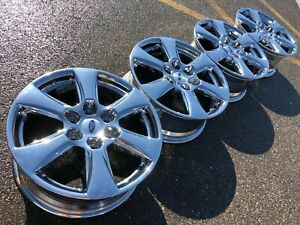 18 Ford F150 Fx4 Expedition Chrome Limited Oem Factory Stock Wheels Rims 6x135