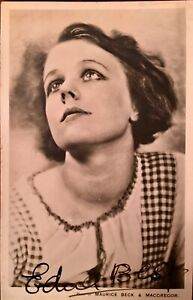 EDNA BEST : STAGE AND SCREEN ACTRESS HITCHCOCK MOVIE GBP 16.00