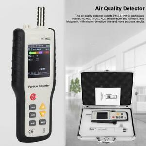 Air Quality Detector Pm2 5 Pm10 Particle Counter With Humidity temperature Test