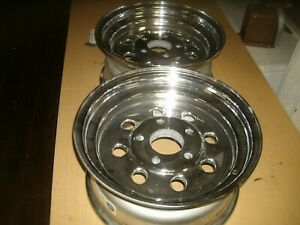 Nos Vintage 1990 Cragar Weld Wheels 15 7 Drag Racing Made In Usa 5 Spacing