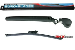 Euro Blades Rear Wiper Arm Kit With Blade For Vw Atlas
