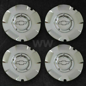 Chevy Silverado Suburban 1500 Chrome Set Of 4 Wheel Center Cap Hubcap 5243