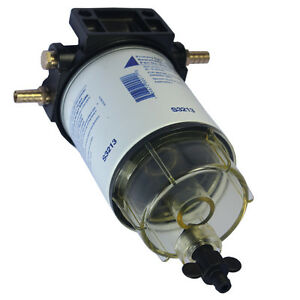New 3 8 Npt Water Separating Fuel Filter System S3213 For Marine Outboard Motor