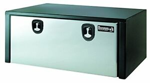 Buyers Products 1702710 Toolbox Polished Stainless Steel Dr Black