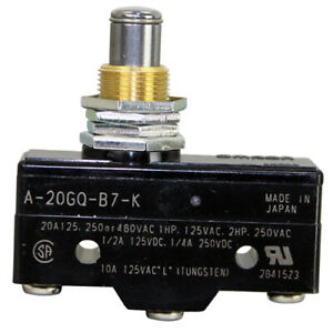 Micro Push Button Momentary On off Door Switch 125 250 480v