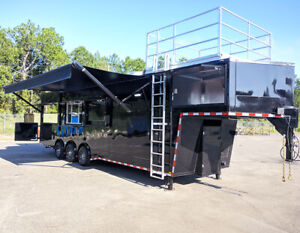 36 Fully Loaded With Smoker Gooseneck elec Ole Hickory Pit