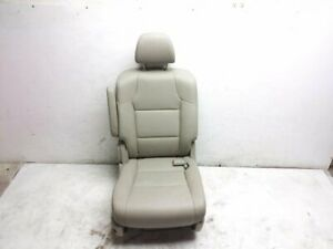 2015 Honda Odyssey Exl Ex l 2nd Row Rear Passenger Right Seat Tan Leather Oem