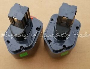 2 X Huskie Bp 70e 14 4v Ni cd Battery For Robo Crimper Cutter Pump Tool