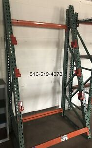 New Teardrop Wire Reel Rack 48 w X36 d X 96 h Tall In Stock For Quick Ship