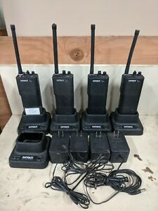 Ritron Patriot Rtx 150 Vhf 2 way Radios Lot Of 4