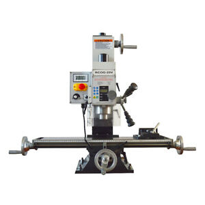 Rcog 25v Precision Mill drill Bench Top Mill And Drilling Machine 110v 27 7