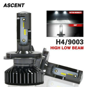 H4 9003 Led Headlight Kit For Toyota Camry 1999 1997 Corolla 2000 1998 6000k