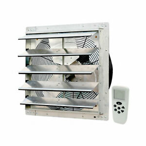 Iliving 18 Inch Smart Remote Shutter Exhaust Fan With Thermostat And Humidistat