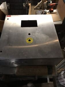 Rittal Ae1014 Electrical Enclosure Cabinet Stainless Steel 30x30 Ae 1014