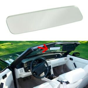 1988 1993 Ford Mustang Convertible Inside Rear View Mirror Glass