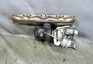 2011 2015 Bmw N55 3 0l Single Turbo Manifold Assembly E82 E90 F30 Oem 81k