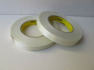 Scotch 898 Filament Tape 0 71 X 60 Yds Lot Of 2 High Strength adhesion