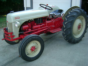 1952 Ford 8n Tractor In Excellent Condition And Ready To Work