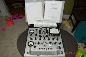 2 Vintage Hickok Tube Testers 539a 539b Boeing Military Testers