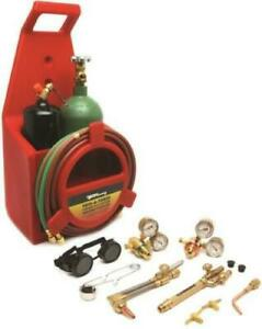 Forney 1753 Victor tote A Torch Oxy Acetylene Welding Kit Set 8912776