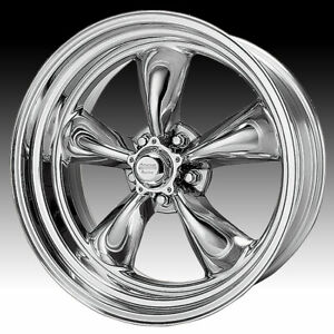 American Racing Vintage Vn515 Torq Thrust Ii Polished 17x8 5x4 5 25mm Vn5157867