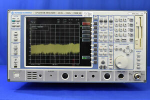 Rohde Schwarz Fseb30 Spectrum Analyzer 20hz To 7 5ghz