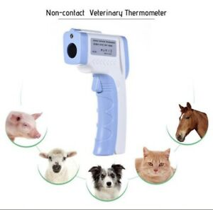 Digital Infrared Veterinary Thermometer Non contact Pets Animals Thermometers