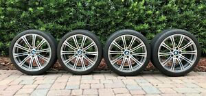 19 2007 2013 Bmw M3 Oem Wheels And Tires