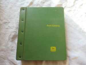 John Deere 4230 Tractor Parts Catalog Manual Book With Green Binder