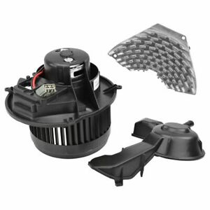 A c Ac Heater Blower Motor W Fan Cage Resistor Kit Front For Volvo