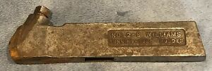 J h Williams No 2 s Tungsten Carbide Turning Tool Holder