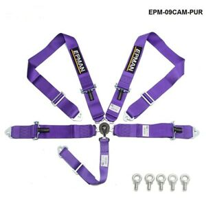 5 Point Camlock Quick Release Racing Seat Belt Harness 3 Sfi 16 1 Certified