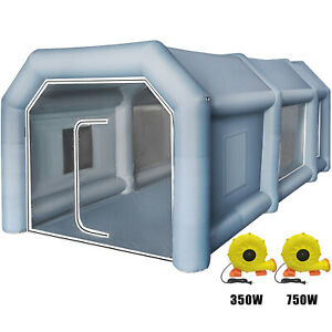 Inflatable Spray Booth Paint Tent Car Paint Anti Uv Filter System Moisture Proof