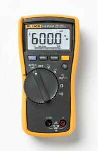 Digital Multimeter Meter Tester Ac Dc Voltage Selection Fluke 110 Plus lw New