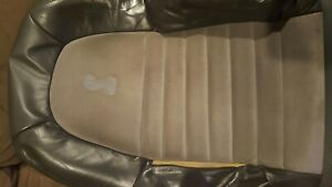 99 01 Ford Mustang Cobra Passenger Seat 2 Tone Suede 1999 2001