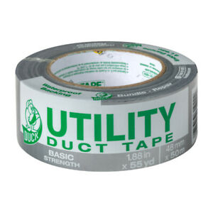 Duck Brand Duct Tape 1 88 In W X 55 Yd L Gray