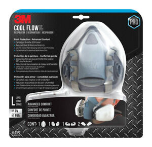 3m P95 Half Face Respirator Valved Blue 1 Pc