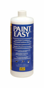 Wagner Latex Paint Conditioner Additive 32 Oz White Easier Brushing Spraying