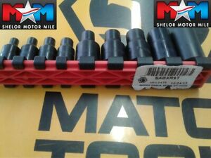 Matco 1 4 3 8 Drive 9pc Recessed Torx Socket Set Sabxr9t Sockets