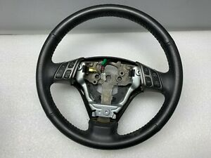2007 2008 2009 Mazda Speed3 Mazdaspeed3 Oem Leather Steering Wheel 01175