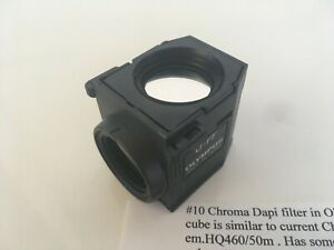 Chroma Dapi Filter In Olympus Filter Cube U ff Cube For Bx63 Bx43 Bx53 Ix3